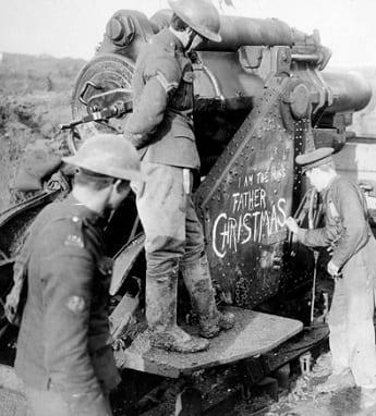 WW1 British Artillery Unit