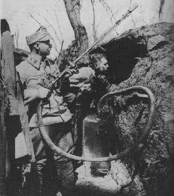 World War One Flamethrower