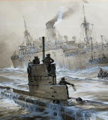 World War One German U-Boat